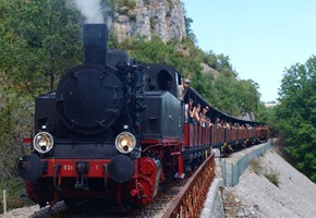 A trip along the Truffadou Railway