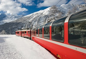 The Bernina Express: The best way to travel through the Alps
