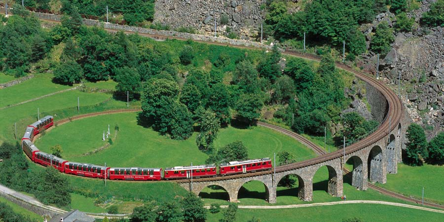 Scenic Switzerland by Rail