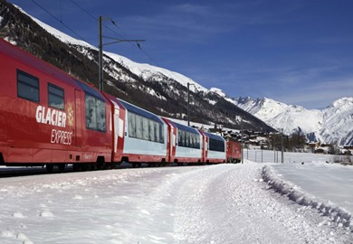 Glacier Express All Inclusive at New Year