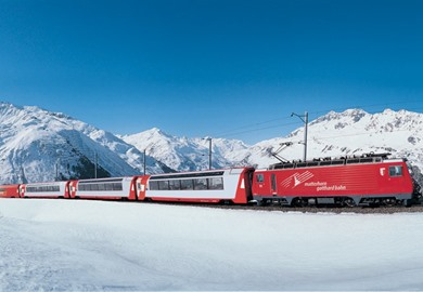 Glacier Express All Inclusive at Christmas