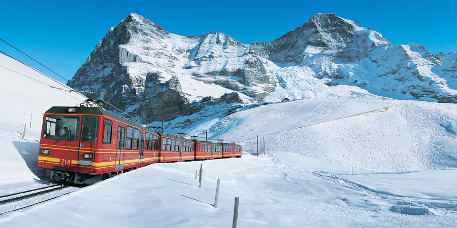 Jungfrau Express All Inclusive in Winter