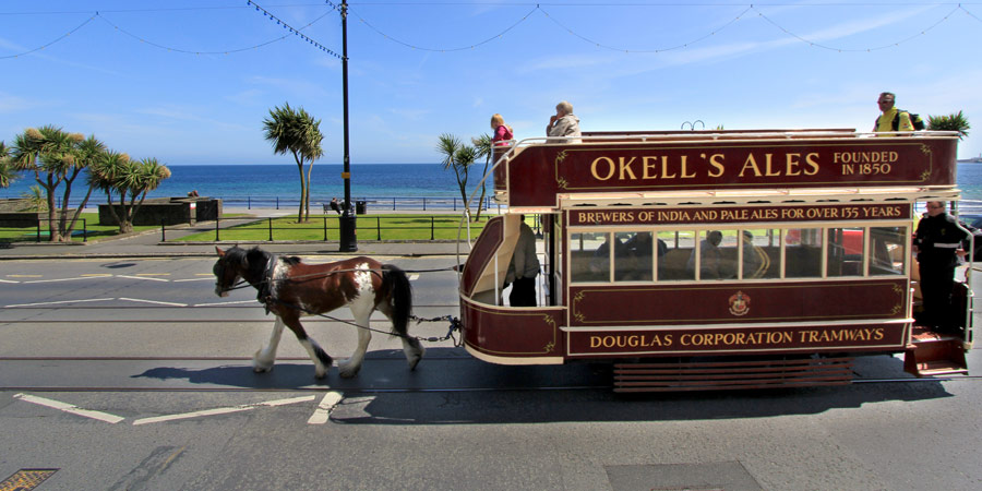 Isle of Man Horsedrawn Tram