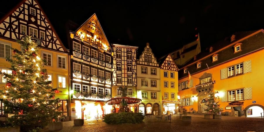 The Christmas Markets of the Moselle