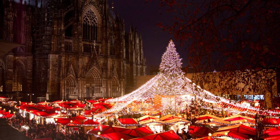 christmas markets of cologne r desheim rail discoveries. Black Bedroom Furniture Sets. Home Design Ideas