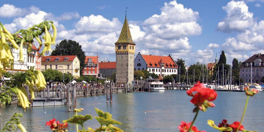 Lindau by rail