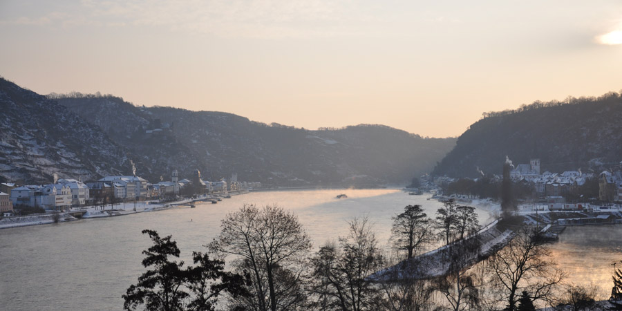New Year in the Rhine Valley
