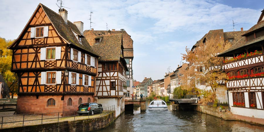 The Waterways of Alsace and Lorraine