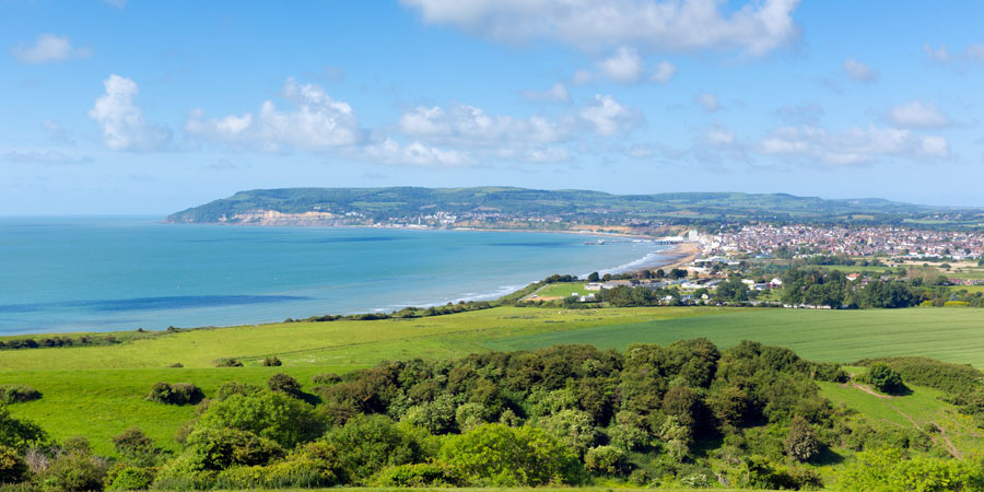 View to Sandown