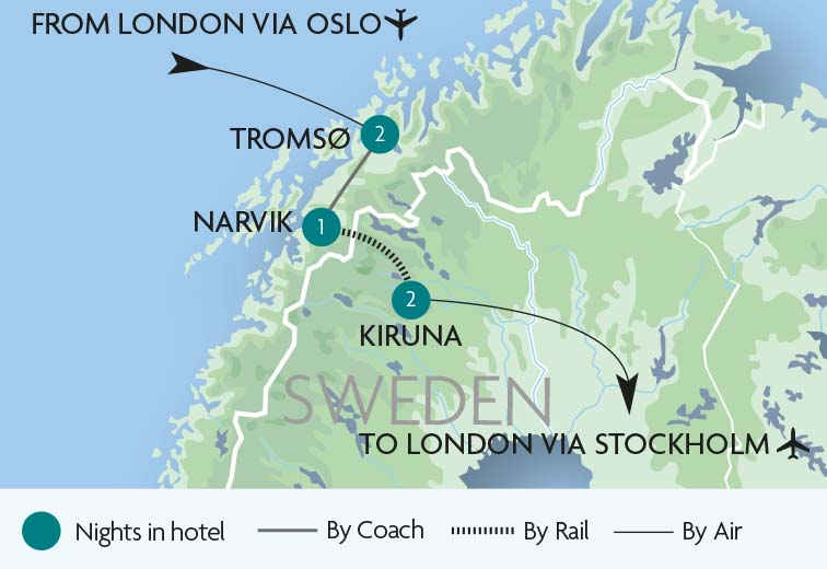 Train Tours & Holidays to Sweden | Rail Discoveries