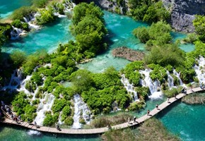 The Great Lakes of Europe: Plitvice Lakes National Park