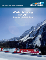 Winter & Spring Escorted Rail Holidays 2016/17
