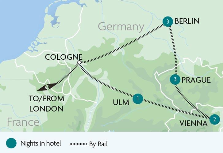 vienna prague berlin tours rail discoveries. Black Bedroom Furniture Sets. Home Design Ideas