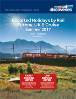 Escorted Holidays by Rail: Europe, UK & Cruise 2017