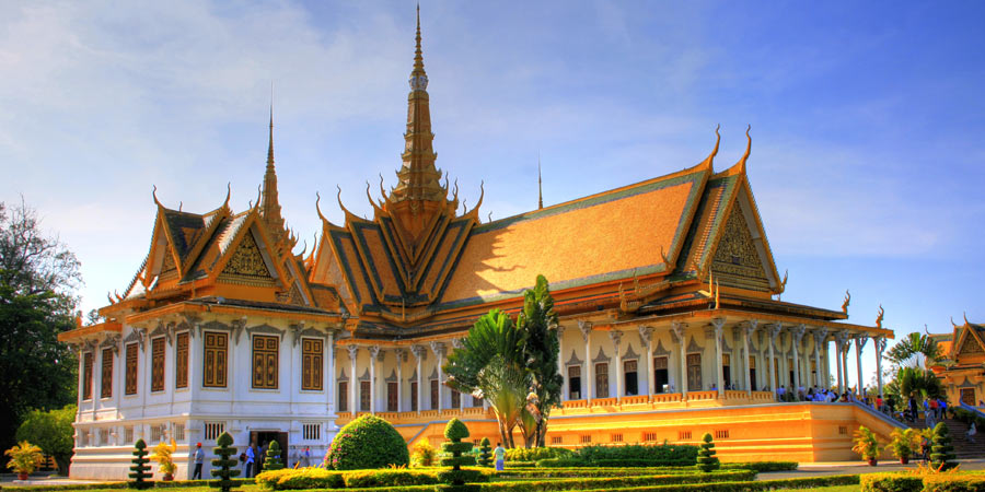 Royal Palace At Phnom Penh