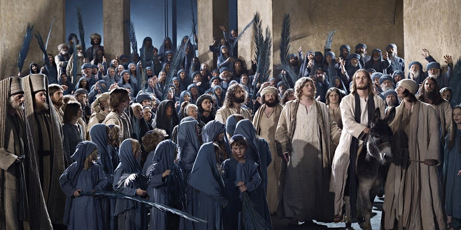 Jesus Enters Jerusalem, Passion Play