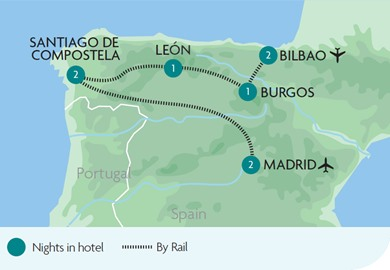 Madrid & Pilgrims Trail