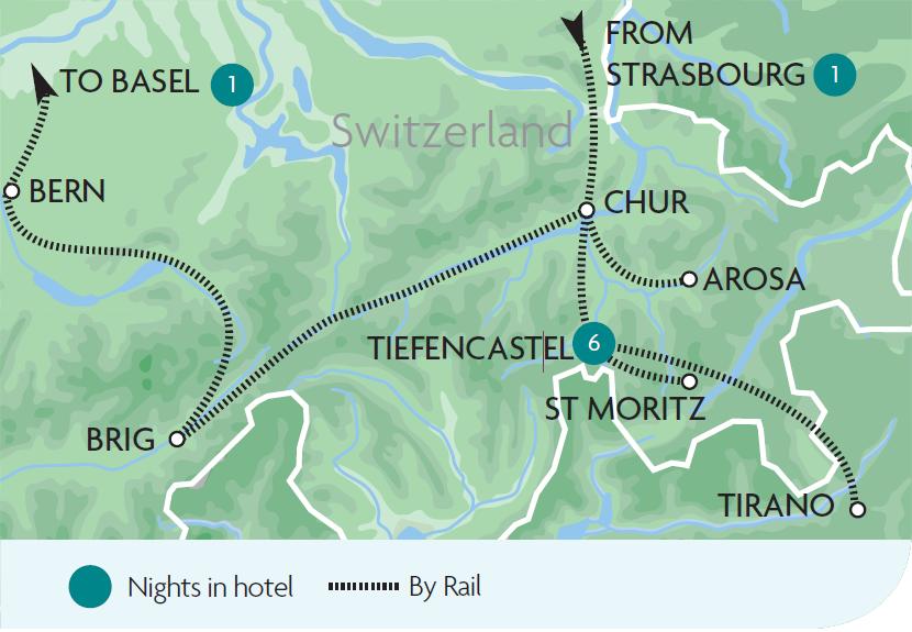 Arosa Line Escorted Rail Tours Holidays Rail Discoveries