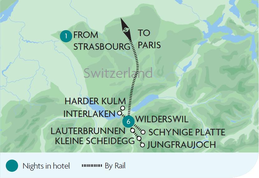 Rail Tours Holidays to Interlaken Rail Discoveries