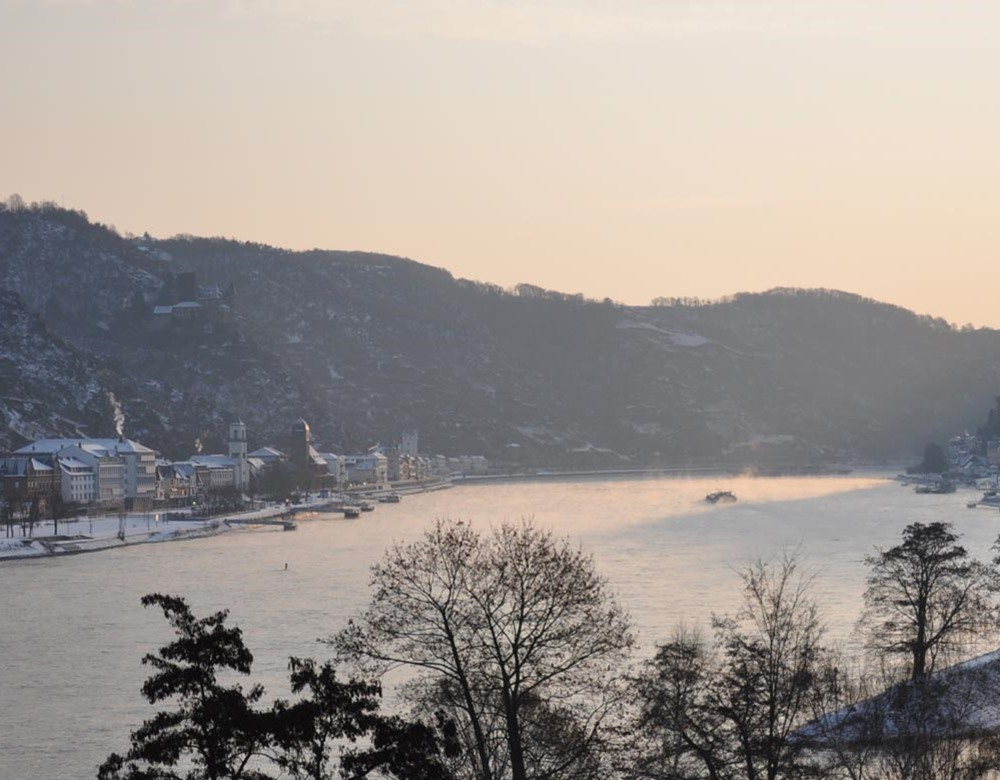 Rhine Valley in Winter