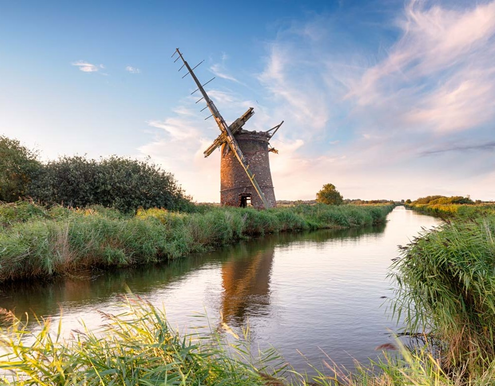 Windmill in Norfolk