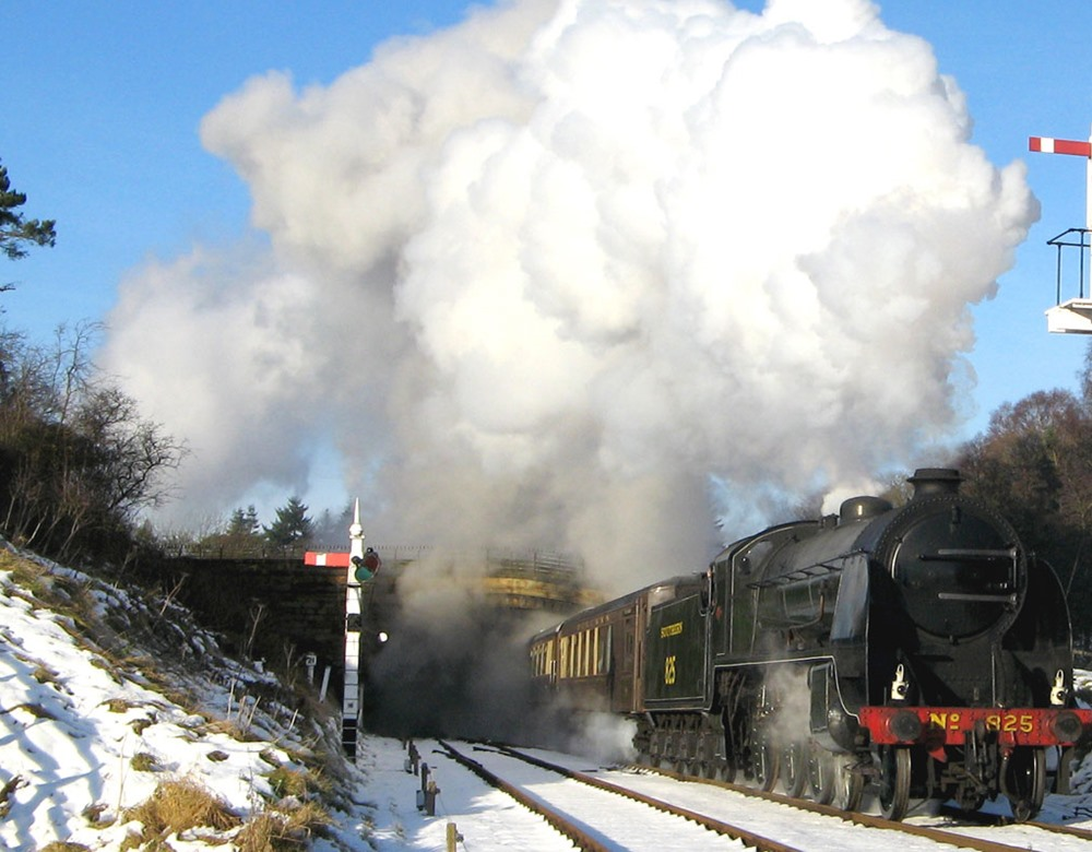 North Yorkshire Moors Railway in Winter