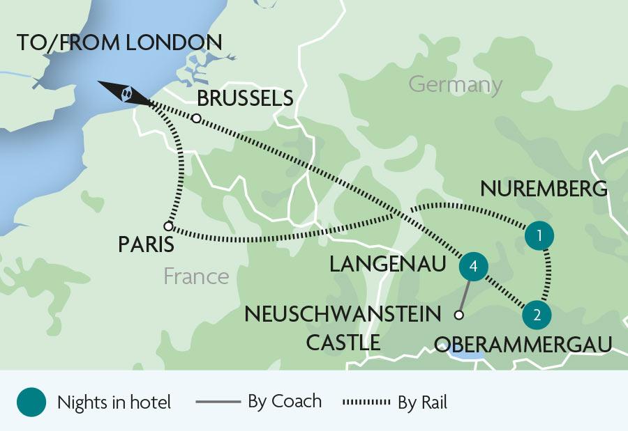Bavaria & Oberammergau Rail Tours | Rail Discoveries