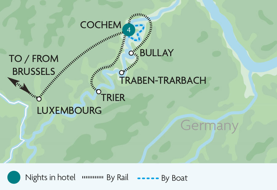 The Moselle Valley Rail Tour Rail Discoveries