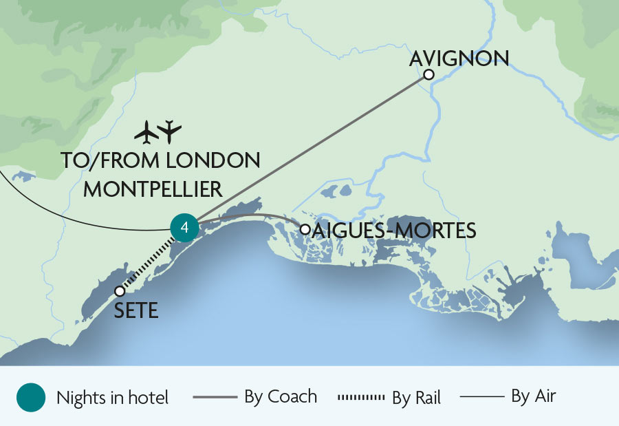 Montpellier and Mediterranean France Rail Tours Rail Discoveries