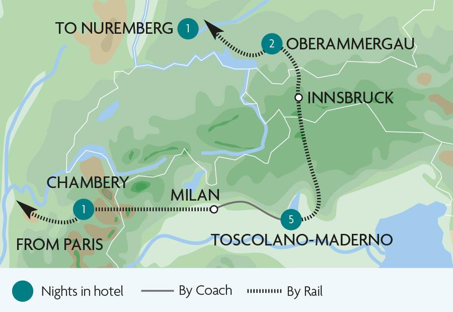 a97111cdd Train Tours   Holidays Desenzano del Garda
