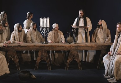The Last Supper, Passion Play