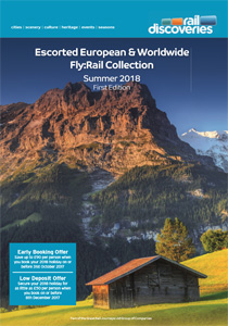 Escorted Europe and Worldwide Fly:Rail Collection 2018