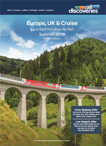 Escorted Holidays by Rail: Europe, UK & Cruise 2018
