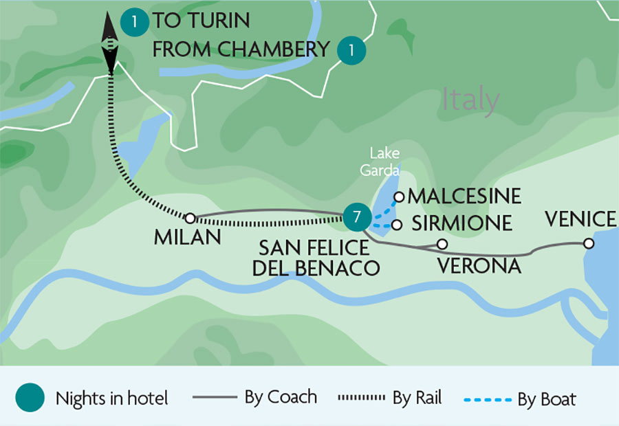 Lake Garda All Inclusive Tours Rail Discoveries