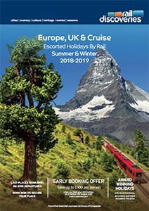Escorted Holidays by Rail: Europe, UK & Cruise 2018/19