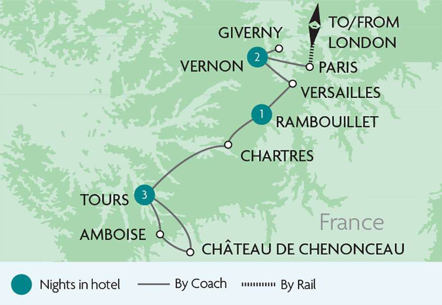 Versailles The Loire Valley Rail Tours Rail Discoveries