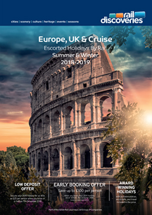 Escorted Holidays by Rail: Europe, UK & Cruise 2019