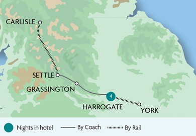 The Festive Markets of Yorkshire - North Yorkshire Moors Railway