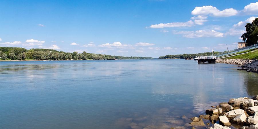 Danube River at Mohács