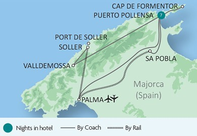 Majorca & the 'Orange Express'