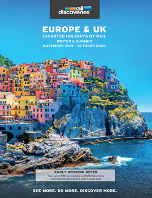 Escorted Holidays by Rail: Europe, UK & Cruise Preview 2020