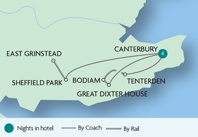 Canterbury & The Garden of England
