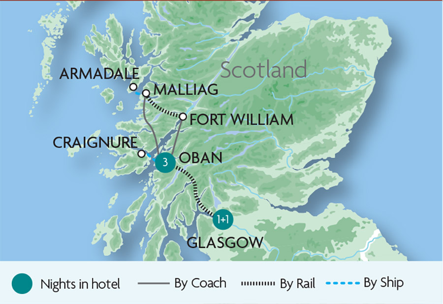 West Highland Line Tours | Rail Discoveries