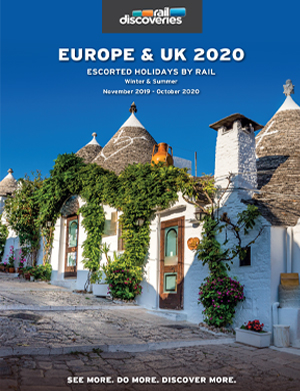 Escorted Holidays by Rail: Europe, UK & Cruise 2020