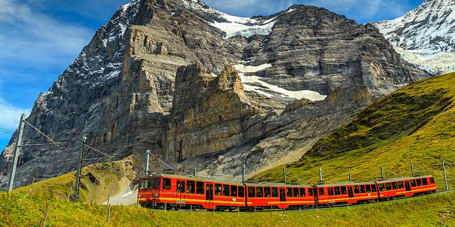 Jungfrau express train Switzerland